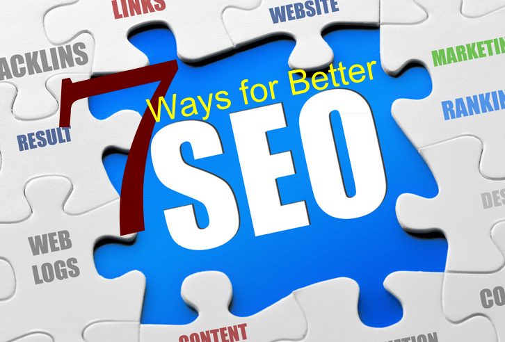 7 ways for better SEO