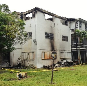 FL Apartment Fire