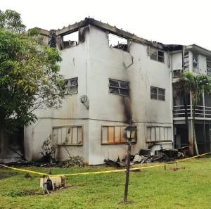 FL Apartment Fire